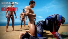 3D gay sex games virtual reality porn game