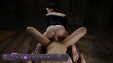 Hot ass fuck gameplay in DreamSexWorld free game