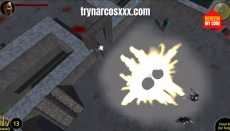 Play Narcos XXX shooter FPS porn game