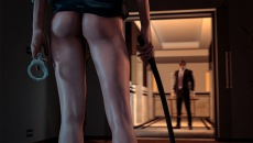 Hot horny handcuffs in kinky SexWorld3D gameplay