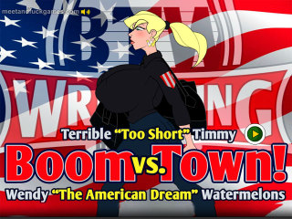 Boom Town! Watermelons Wendy vs. Timmy