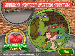Teenage Mutant Fucking Turtles